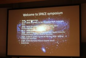 The Space Symposium presentations timeline